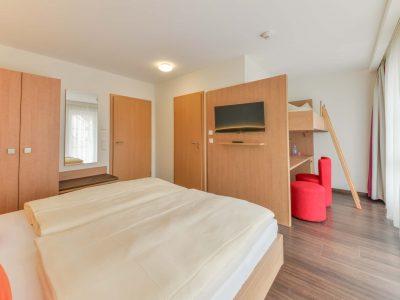 Mehrbettzimmer Hotel Garni Peterhof Dietenheim