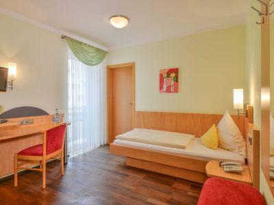 Einzelzimmer Hotel Garni Peterhof Dietenheim